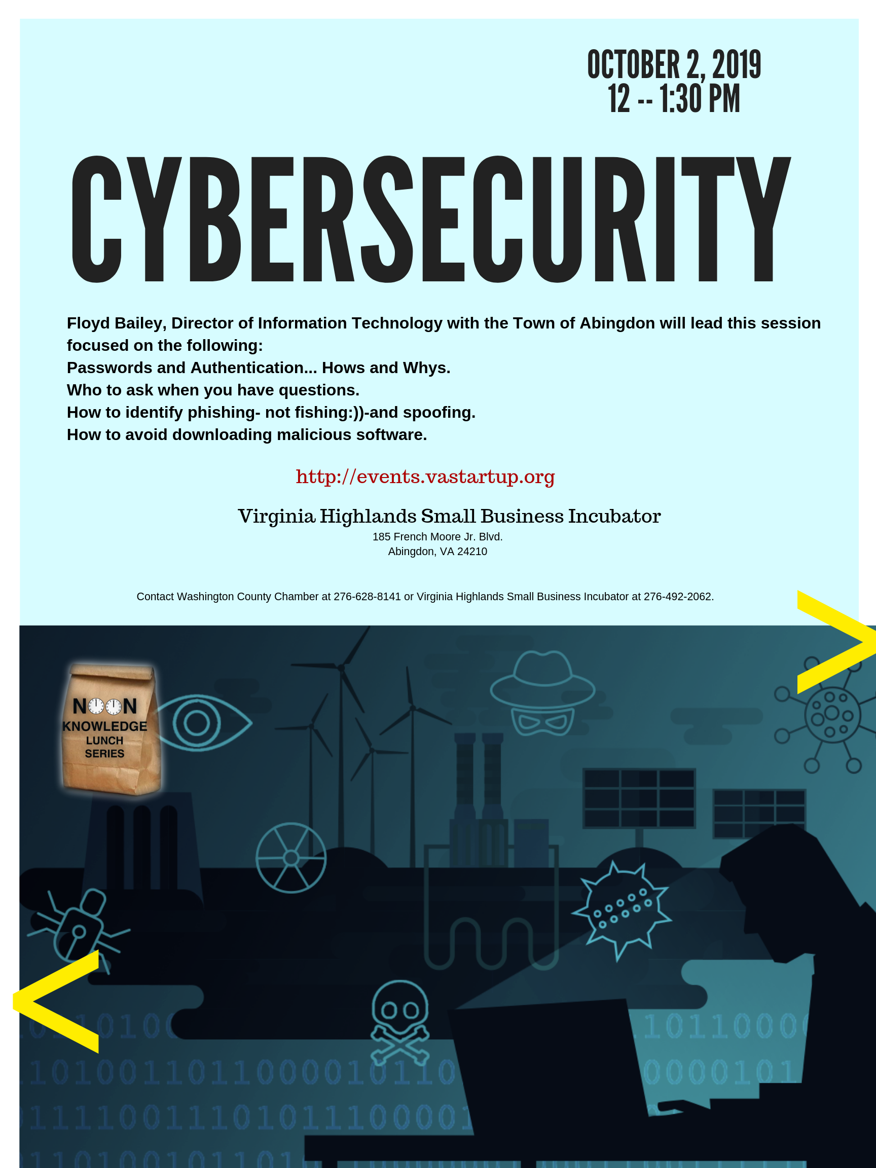 Cyber Security – Virginia Highlands Small Business Incubator
